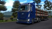 Hyundai Xcient for Euro Truck Simulator 2 miniature 1