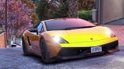 Lamborghini Gallardo LP570-4 Superleggera 2011 1.0 для GTA 5 миниатюра 18