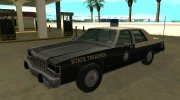 Ford LTD Crown Victoria 1987 Florida Highway Patrol for GTA San Andreas miniature 1