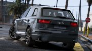 Audi Q7 Comfort Line for GTA 5 miniature 2