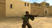 Twinke+Poly M4 on Default anims for Counter-Strike Source miniature 4