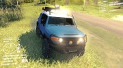 Toyota FJ Cruiser 2011 Custom v1.0 for Spintires DEMO 2013 miniature 4