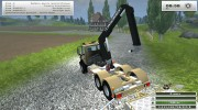 Mercedes-Benz Unimog crane devices Trailer for Farming Simulator 2013 miniature 14