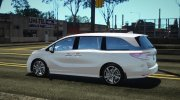 2018 Honda Odyssey Elite for GTA San Andreas miniature 6
