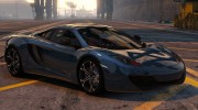 McLaren MP4 12C 1.2 for GTA 5 miniature 1