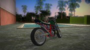 Honda FTR Custom v3.0 for GTA Vice City miniature 3