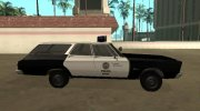 Plymouth Belvedere SW 1965 LAPD for GTA San Andreas miniature 6