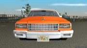 Chevrolet Caprice 1986 for GTA Vice City miniature 5