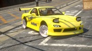 Mazda RX-7 FD3S BN Sports ClubManS ACTIVE AUTO для GTA 4 миниатюра 3