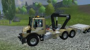 Mercedes-Benz Unimog crane devices Trailer for Farming Simulator 2013 miniature 2