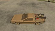 DeLorean DMC-12 (BTTF2) для GTA San Andreas миниатюра 2