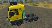 MAN TGS with Strobe Light v 2.5 для Farming Simulator 2013 миниатюра 2