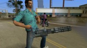 Mini-Gun from Saints Row 2 для GTA Vice City миниатюра 1