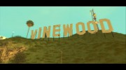 GTA V Vinewood Sign v3.0 для GTA San Andreas миниатюра 1