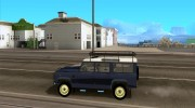 Land Rover Defender 110 for GTA San Andreas miniature 2
