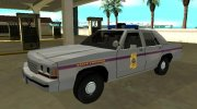 Ford LTD Crown Victoria 1991 Mississippi State Trooper for GTA San Andreas miniature 1
