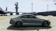 Mercedes-Benz S63 AMG for GTA 4 miniature 5
