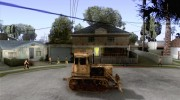 Bulldozer T 130 for GTA San Andreas miniature 5