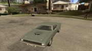 Plymouth Hemi Cuda for GTA San Andreas miniature 1