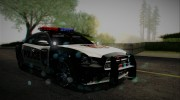 2012 Dodge Charger SRT8 Police interceptor LSPD для GTA San Andreas миниатюра 5