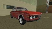 BMW 3.0 CSL 1971 for GTA Vice City miniature 2