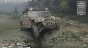Hummer H1 Military for Spintires 2014 miniature 2