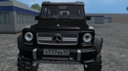 Mercedes-Benz G65 AMG 6X6 for Farming Simulator 2015 miniature 7