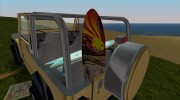 Jeep Wrangler 4.0 Fury 1986 for GTA Vice City miniature 3