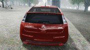 Citroen C4 Coupe Beta для GTA 4 миниатюра 4