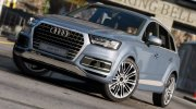 Audi Q7 Comfort Line for GTA 5 miniature 1