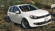 Volkswagen Golf Mk 6 for GTA 5 miniature 2