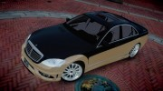 2008 Carlsson Aigner CK65 RS Blanchimont for GTA 4 miniature 8