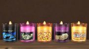 WaxSim Candles - Halloween Set for Sims 4 miniature 2