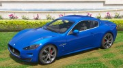 2010 Maserati GranTurismo S for GTA 5 miniature 2