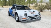 Ford RS200 Evolution Group B Rally 1986 for BeamNG.Drive miniature 1
