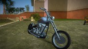 Harley-Davidson Black Death for GTA Vice City miniature 2
