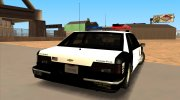 1992 CHEVROLET POLICE LVPD SA STYLE for GTA San Andreas miniature 3