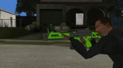 Green Special Carbine (GTA Online DLC) for GTA San Andreas miniature 3