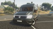 Volkswagen Crafter 2017 L1H2 for GTA 5 miniature 1