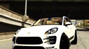 2015 Porsche Macan Turbo for GTA 5 miniature 3