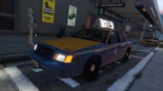 1999 Ford Crown Victoria Taxi for GTA 5 miniature 1