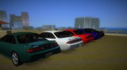 Nissan 200SX s14a for GTA Vice City miniature 3