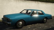 Chevrolet Impala 1985 for GTA 5 miniature 1
