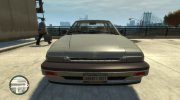 1986 Honda Accord 4-door for GTA 4 miniature 2