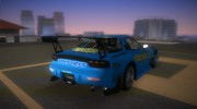 Mazda RX-7 FD3S RE Amemiya (Racing Car GReddy) for GTA Vice City miniature 3