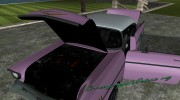 Chevrolet Bel Air 1957 for GTA Vice City miniature 5