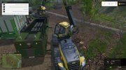 The beast heavy duty wood chippers for Farming Simulator 2015 miniature 11