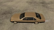 Mercedes Benz 500 SE W140 for GTA San Andreas miniature 2