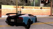 Lamborghini Murcielago LP 670-4 SV for GTA San Andreas miniature 4