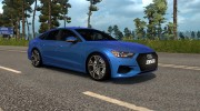 Audi A7 Sportback for Euro Truck Simulator 2 miniature 1